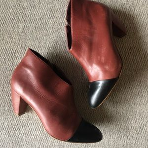 Loeffler Randall low heel booties